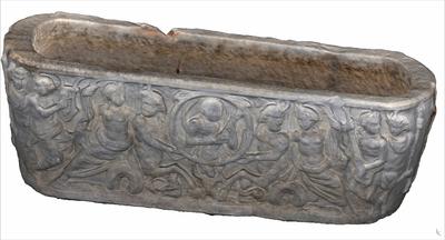 Image of 3D model of Sarcophagus of Centauri Marini and Nereidi