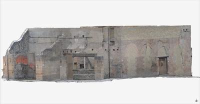 Images of 3D model Collegio degli Augustali at Herculaneum