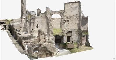 3D model of Roman Buildings at Naples (Carminiello ai Mannesi)