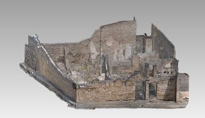 Images of 3D model of Stallius Eros Domus