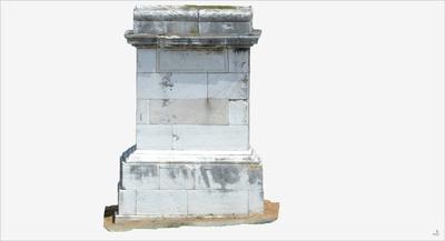 Images of 3D model of Tomb of Luccius Libella (Pompeii Porta Ercolano)