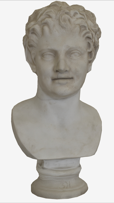 Images of 3D model of Bust of Satyr