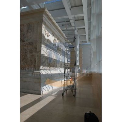Ara Pacis -  photographic documentation scanning
