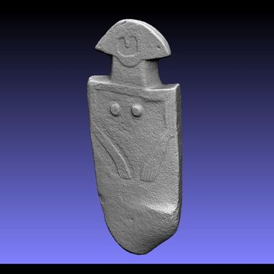 Lunigiana Stele - Groppoli 5 low-res 3D model