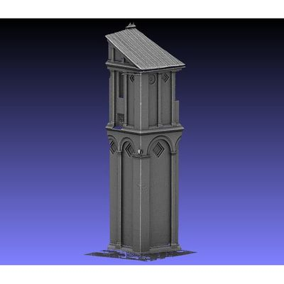 Pisa Cathedral - bull corner 3D model