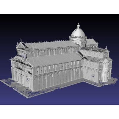 Pisa Cathedral - Whole Cathedral master 3D model