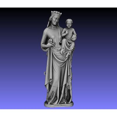 Pisa Cathedral - Madonna 3D model