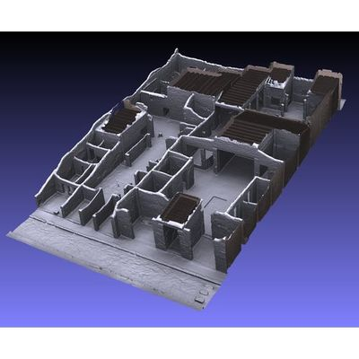 Insula V 1 - Cecilio Giocondo House 3D model