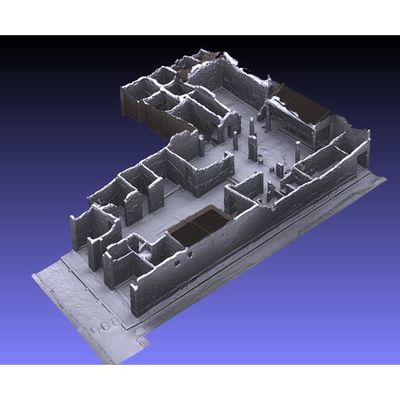 Insula V 1 - Torello House 3D model