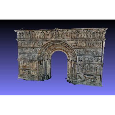 Portalada de Ripoll - master 3D model