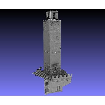 San Gimignano - Rognosa Tower 3D model