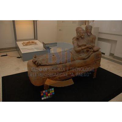 Sarcofago degli Sposi - Photographic campaign