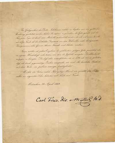 [Letter] 1864-04-24, München