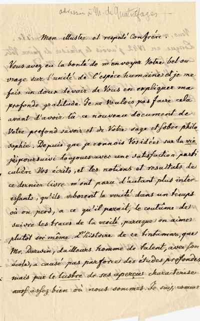 [Letter] 1861, Schlehdorf