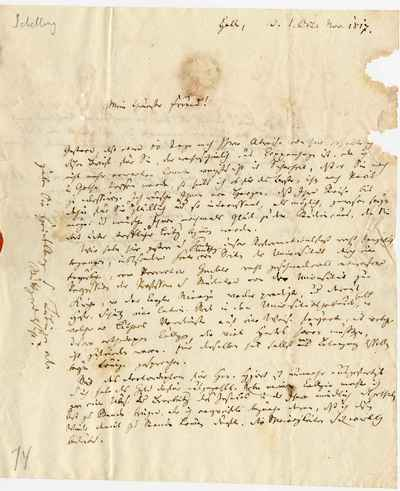 [Letter] 1817-11-01, Halle [to] Poul Lemming