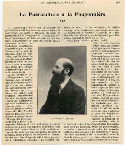 [Portrait] Le Docteur Raimondi.