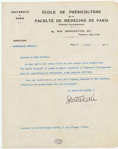 [Letter] 1921-08-05, Paris
