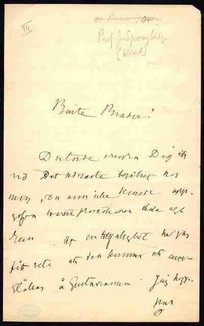 [Letter] 1880-05-29, Uppsala