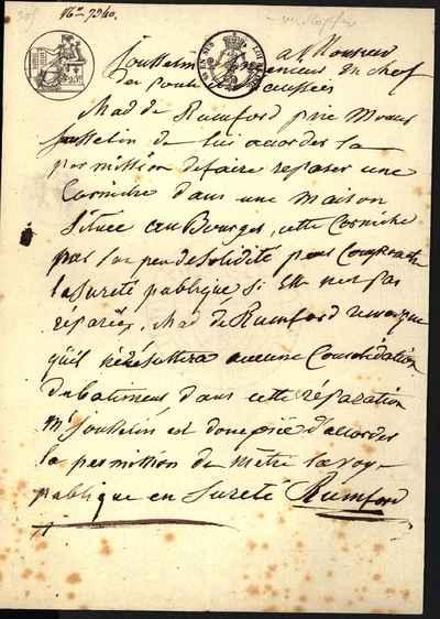 [Letter] 1816 [to] Louis Didier Jousselin [to] Louis François Jousselin