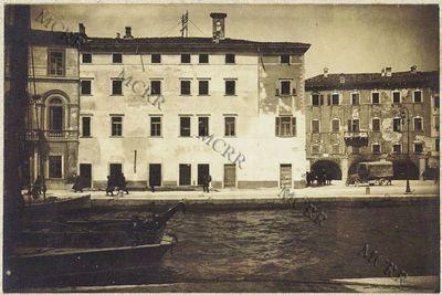 Fabbricati per servizi civili. I° palazzo Pretorio: uffici municipali. (A lavori compiuti).