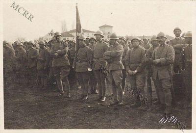 La bandiera della brigata