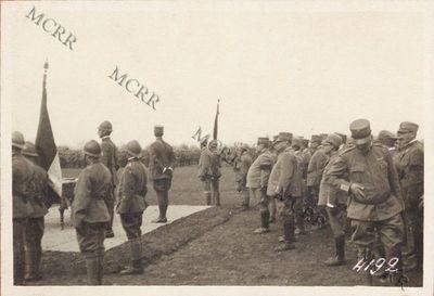 Cerimonia alla brigata Pisa