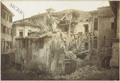 Fabbricati per servizi civili. (Chiesa S. Rocco alla data d'armistizio).