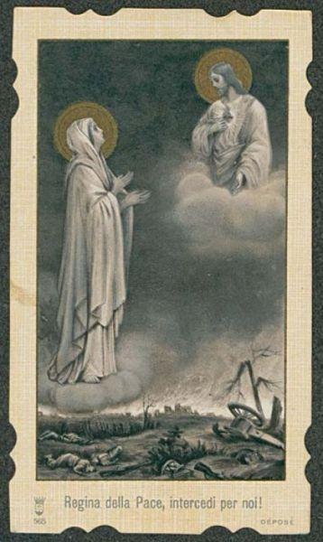 Orazione a Maria Santissima  / Pio 9