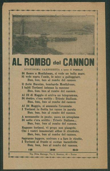 Al rombo del cannon