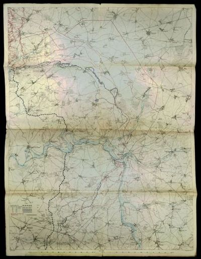 [Mappa del fronte della Somme]