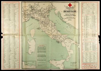 Carta della Croce Rossa Italiana  : Comitati Regionali di Sezione, Distrettuali, Comunali