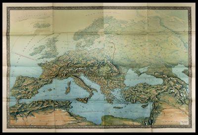Europa panoramica (fronte unico), febbraio 1917  / D. Frige