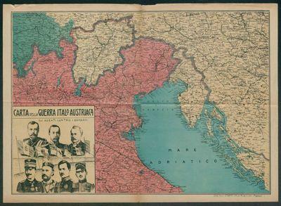 Carta della guerra italo-austriaca  : gli alleati contro i barbari