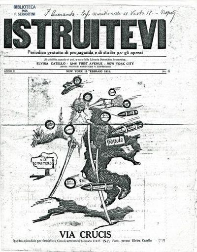Istruitevi : periodico gratuito di propaganda e di studio per gli operai