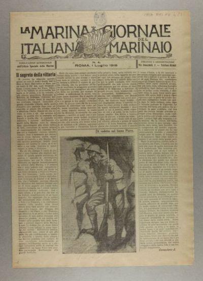 La Marina italiana : giornale del marinaio : pubblicazione quindicinale dell'Ufficio speciale della Marina