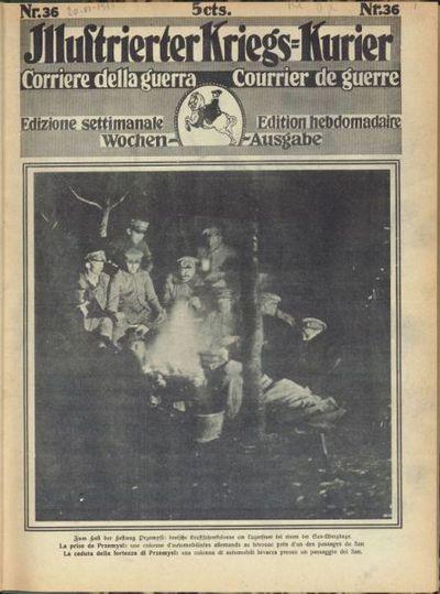 Illustrierter Kriegs-kurier
