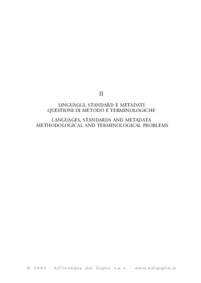 Linguaggi dichiarativi per la ricerca archeologica