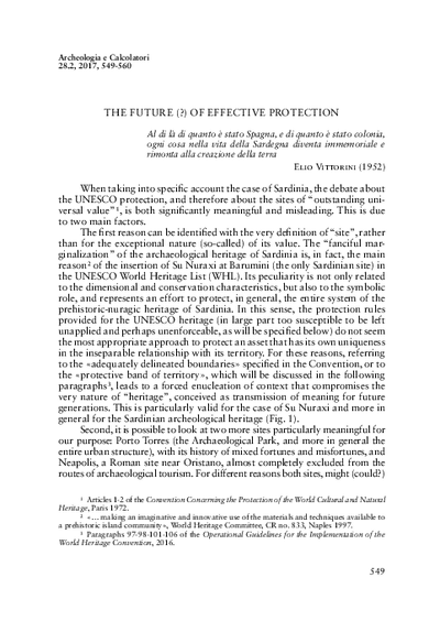 The future (?) of effective protection