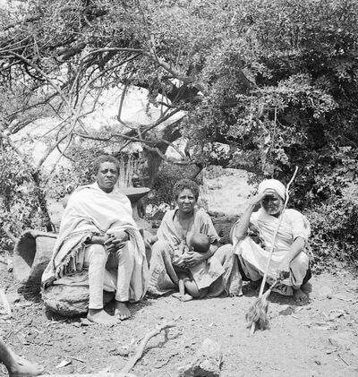 Gondar: tipi falascia di Adergiahà