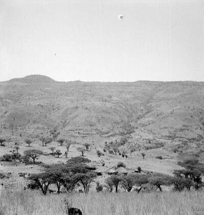 Gondar: capanna camanti presso il C. Chercher