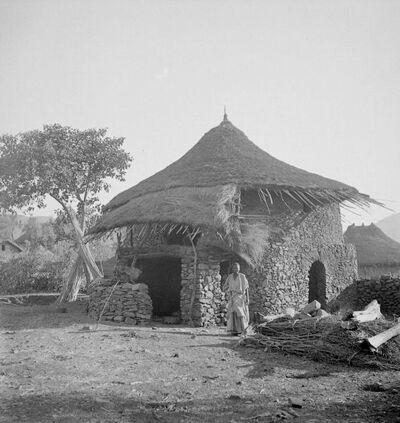 Gondar: tipi di abitazioni