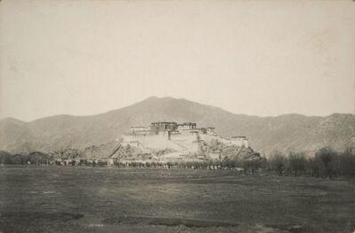 Il colle Martori col palazzo Potalà del Dalai Lama