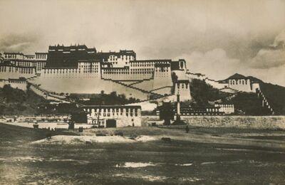 Il palazzo Bodalà del Dalai Lama visto da distanza ancor minore e direttamente da sud