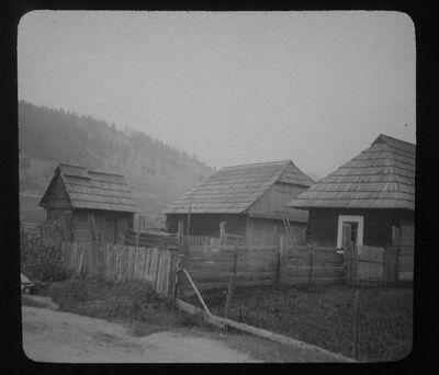 Case rurali a Vatra Dornei (Bucovina)