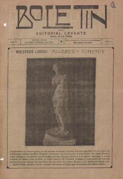 Boletín de la Editorial Levante