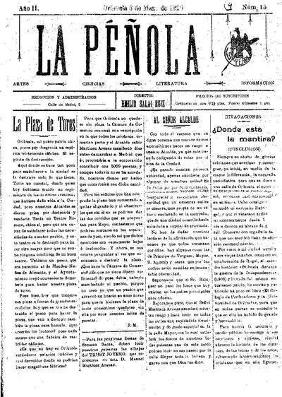 La Péñola : matemáticas, artes, ciencia, literatura, información