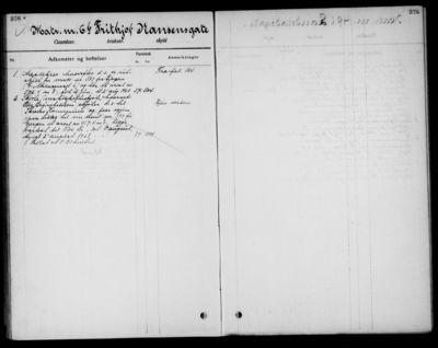 Realregister for eiendommer innlemmet i Skien by (fra Gjerpen). Gnr. 3, Falkum. Register.