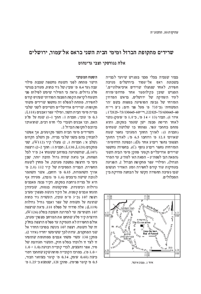Iron Age and Second Temple-Period Remains at Ras el-'Amud, Jerusalem (with a contribution by Tamar Winter) (Hebrew, pp. 1*–21*; English summary, pp. 139–140)