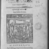 Les anciens statuts de la ville et cité de Bourdeaus, enrichis d'aucuns nouveaux statuts, de plusieurs réglemens et annotations