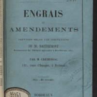 Engrais et amendements